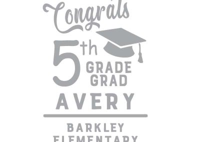TM119 Graduation Banner (Elementary, Middle & High) 3