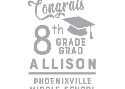 TM119 Graduation Banner (Elementary, Middle & High) 4